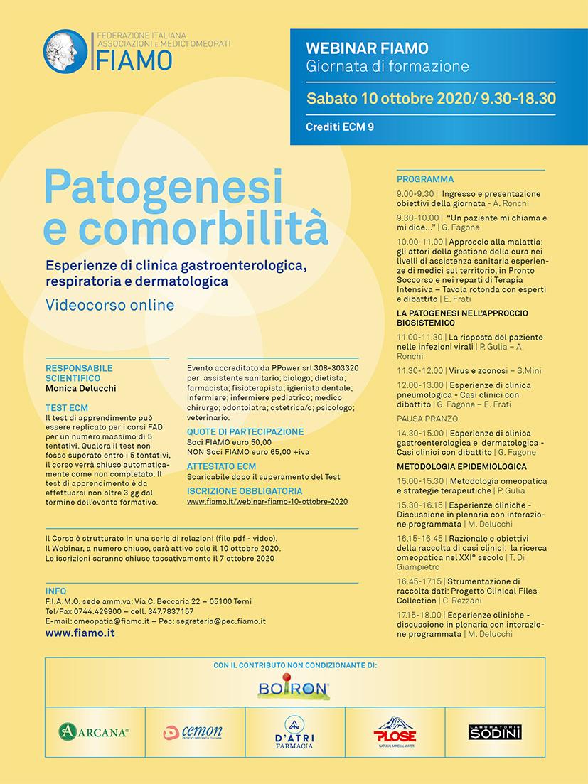 Webinar FIAMO 2020