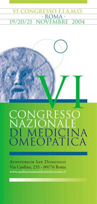VI Congresso Nazionale FIAMO 2004