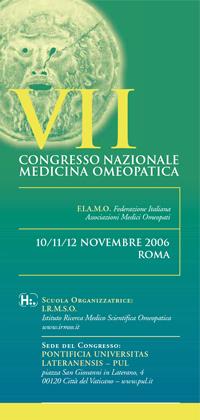 VII Congresso Nazionale FIAMO 2006