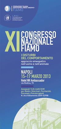 XI Congresso Nazionale FIAMO 2013